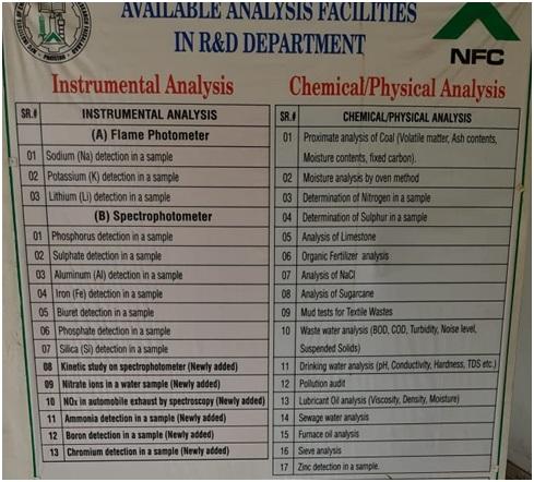 analysis facilities